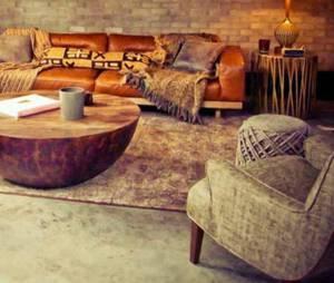 Aaron Paul : le salon de sa maison sur Airbnb
