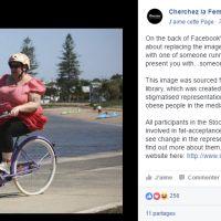 Facebook censure la photo d'une mannequin grande taille et suscite la polémique