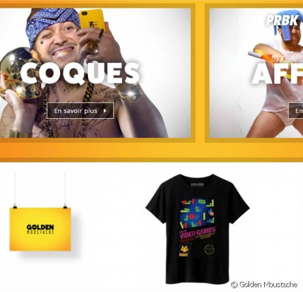 Golden Moustache : une boutique de produits dérivés