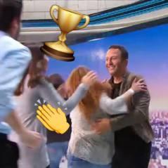 Arthur bat le record du monde de free hugs dans Cinq à Sept !