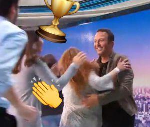 Arthur bat le record du monde de free hugs dans Cinq à Sept avec Arthur le 6 juin 2016 sur TF1