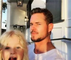 Eric Dane et sa fille Billier sur Instagram