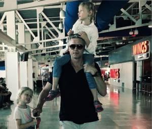 Eric Dane et ses filles sur Instagram