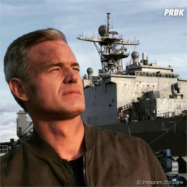 Eric Dane sur le tournage de The Last Ship