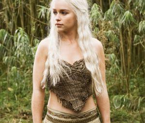 """Emilia Clarke alias Daenerys dans Game of Thrones, bientôt à l'affiche du film """"Avant toi""""."""