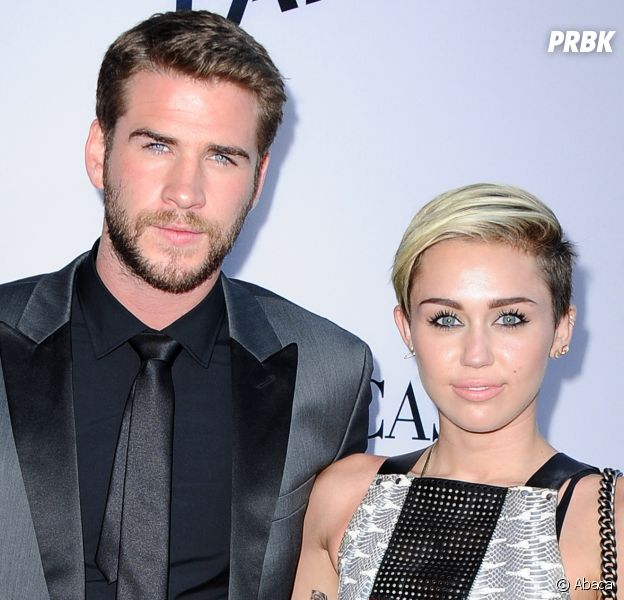 Miley Cyrus et Liam Hemsworth, toujours en couple à en croire l'Instagram de la chanteuse.