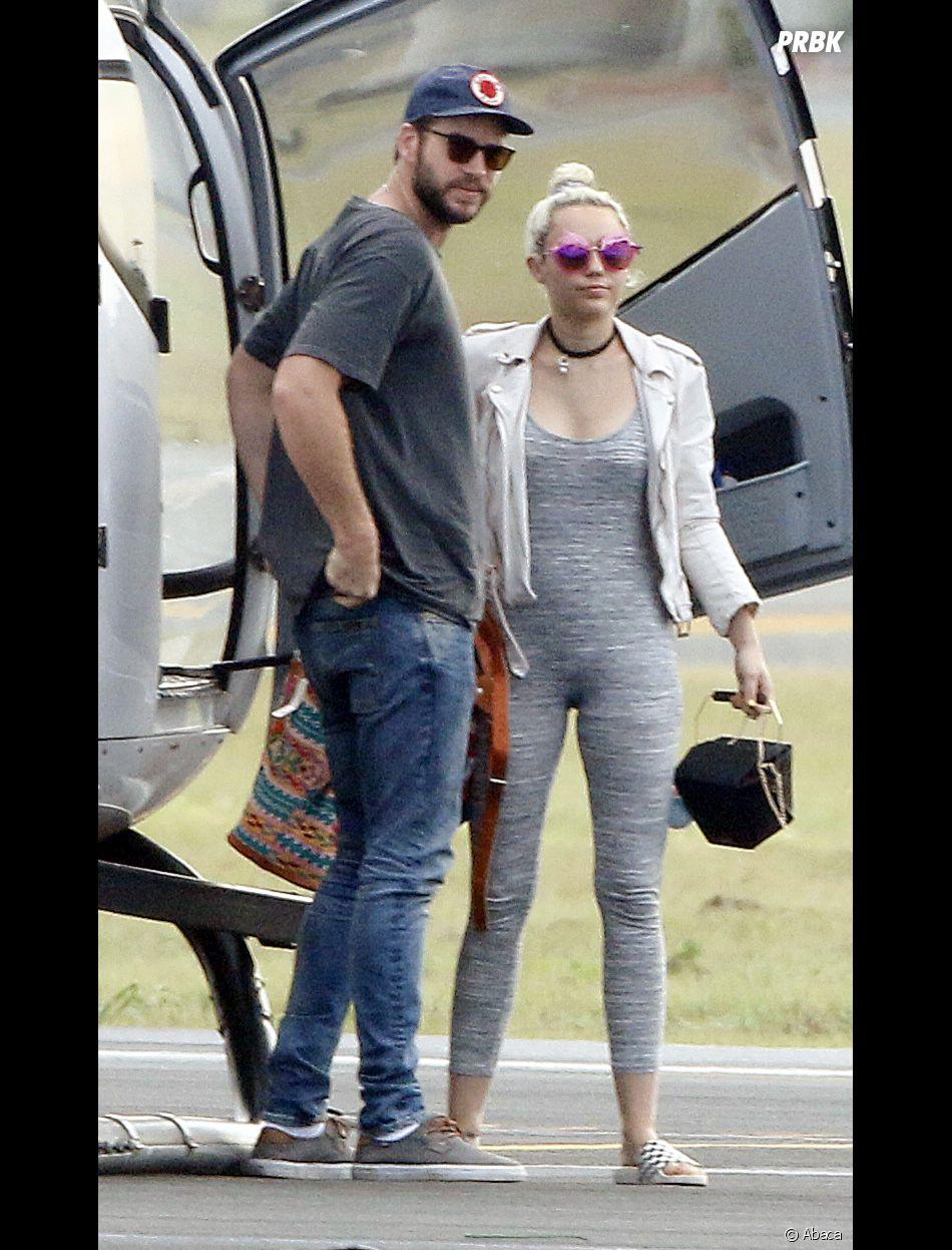 Miley Cyrus et Liam Hemsworth s'étaient revus en mai 2016.