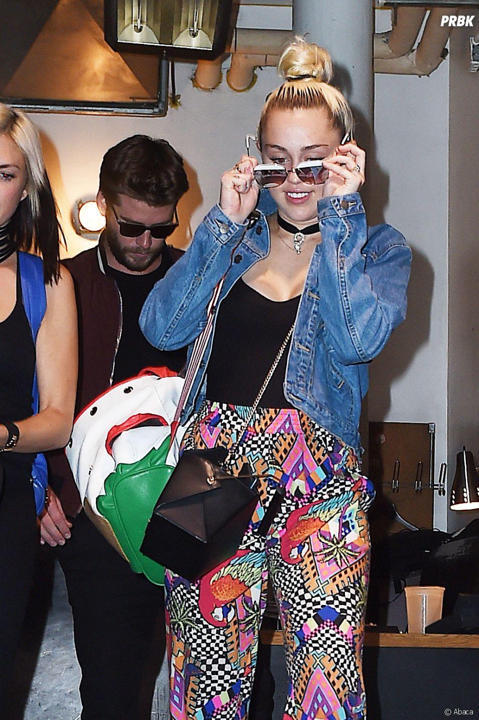 Miley Cyrus et Liam Hemsworth, un amour qui a l'air de rouler.