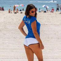 Claudia Romani (Secret Story 9) dévoile ses formes 🍑 pour soutenir l'Italie 🇮🇹 à l'Euro 2016