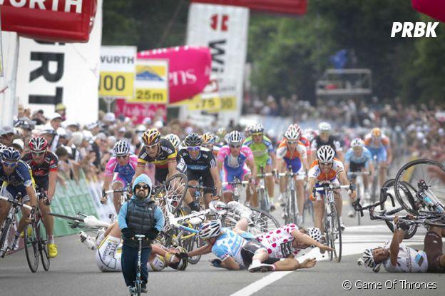 Peter Dinklage fait le Tour de France