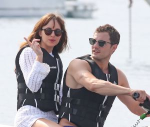 Fifty Shades of Grey en tournage à Nice pendant l'attentat : Dakota Johnson et Jamie Dornan sains et saufs