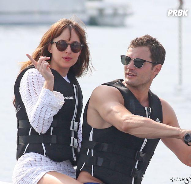 Fifty Shades of Grey en tournage à Nice pendant l'attentat : Dakota Johnson et Jamie Dornan sains et saufs