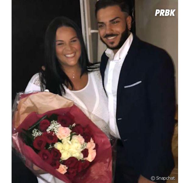 Sarah Fraisou (Les Anges 8): son fiancé Malik gay ? Il répond sur Instagram