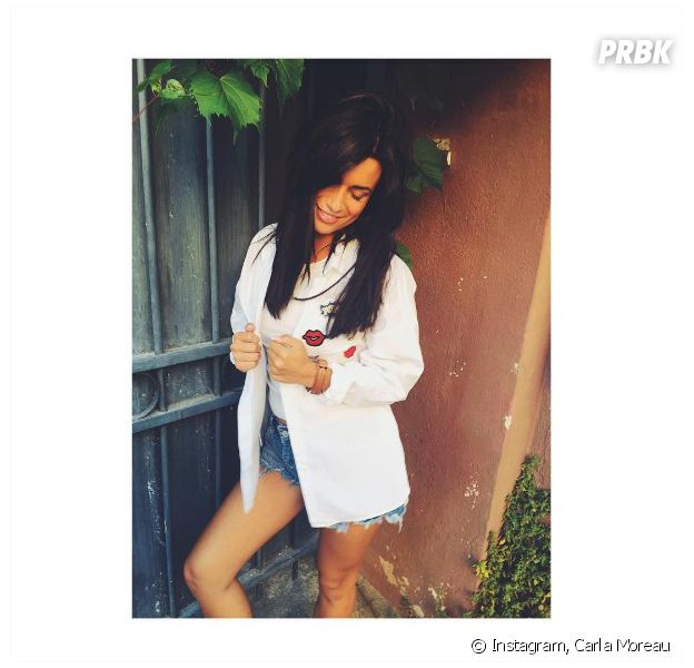 Carla Moreau (Les Marseills & Les Ch'tis VS le reste du monde) dévoile sa coloration brune sur Instagram