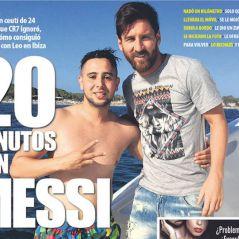 Ignoré par Cristiano Ronaldo, il nage 1km pour rencontrer Messi et se fait accueillir comme un roi
