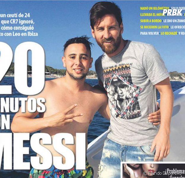 Lionel Messi : un Espagnol nage un kilomètre pour le rencontrer sur son yatch privé à Ibiza