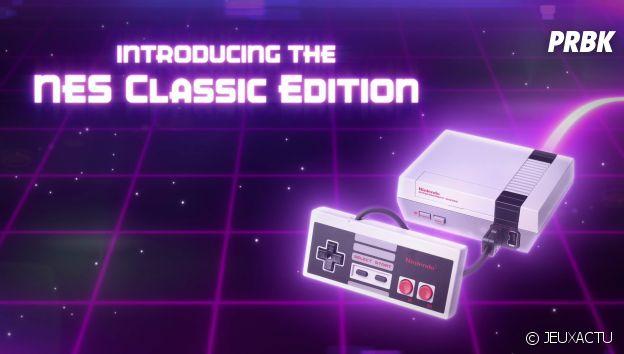 Une Mini-NES avec 30 jeux inclus