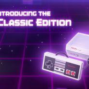 Voici la Mini NES de Nintendo qui tient dans le creux de la main !