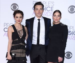 Ian Harding, Lucy Hale et Ashley Benson au People's Choice Awards 2016