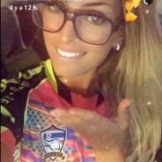 Mélanie Da Cruz à fond sur Snapchat pour encourager Anthony Martial pendant France-Italie