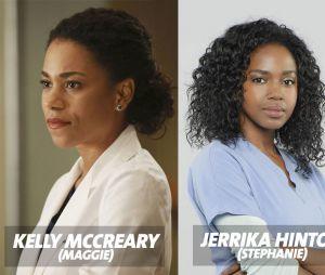 Grey's Anatomy saison 13 : Kelly McCreary confondue avec Jerrika Hinton