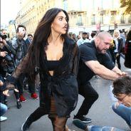 Kim Kardashian à Paris : agressée par un harceleur, elle répond avec une photo seins nus