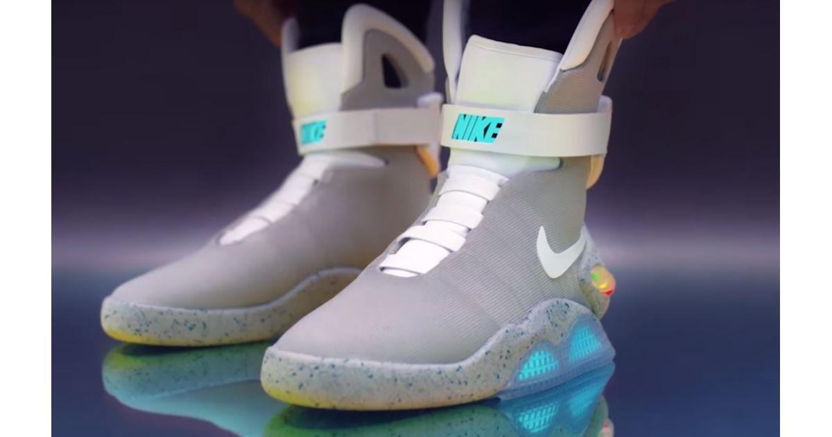 new style 9929d 42617 Les Nike Air Mag de Retour vers le futur sont en vente, mais vous nen  aurez (probablement) pas - Purebreak