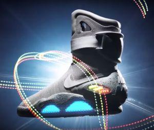 Les vraies Nike Air Mag de Michael J. Fox (Marty McFly dans Retour vers le futur).