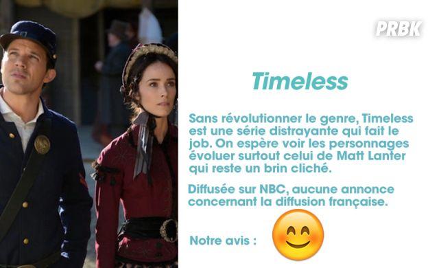 Timeless : notre avis sur la série