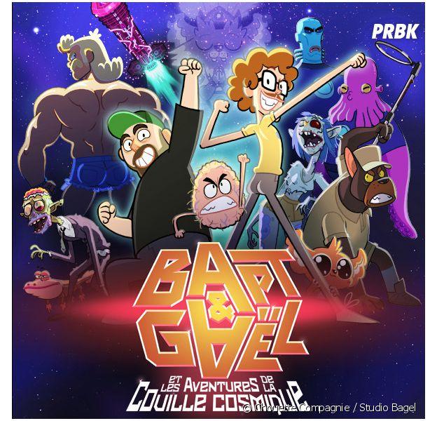 Bapt & Gaël en dessin animé : rendez-vous WTF dans l'espace