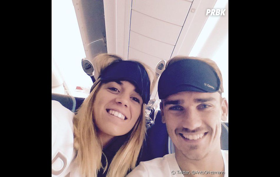 Antoine Griezmann et Erika Choperena sont les parents d'une petite Mia depuis le 8 avril 2016