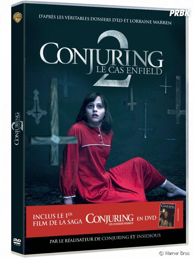 Conjuring 2 : Le Cas Enfield en DVD et Blu-Ray.