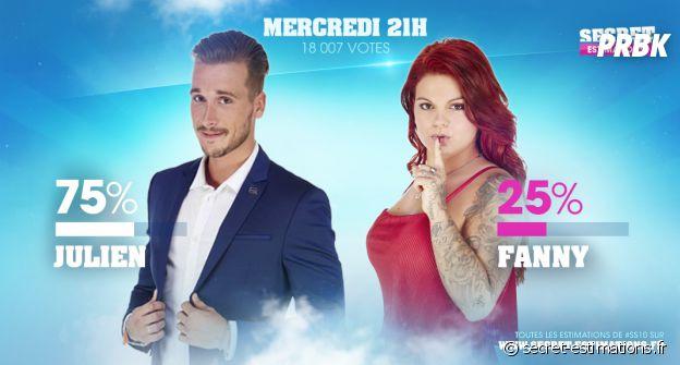 Secret Story 10 : Julien sauvé, Fanny éliminée ?