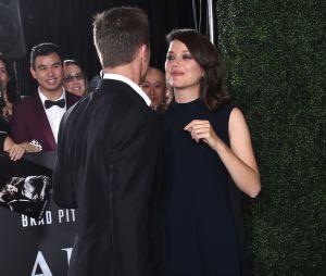Marion Cotillard et Brad Pitt sur le red carpet pour leur film Alliés, qui sortira le 23 novembre prochain au cinéma.