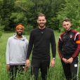 Raphaël Pépin (Friends Trip 3) entouré de Maxime et Mehdi