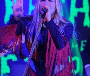 Kesha métamorphosée à Miami le 18 novembre 2016