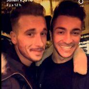 Julien (Secret Story 10) et Darko partagent leurs retrouvailles à Paris sur Snapchat
