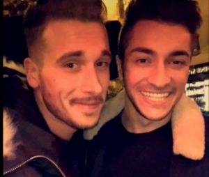 Julien (Secret Story 10) et Darko : ils partagent leurs retrouvailles à Paris sur Snapchat