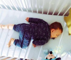 Aurélie Van Daelen dévoile le visage de son fils Pharell sur Instagram