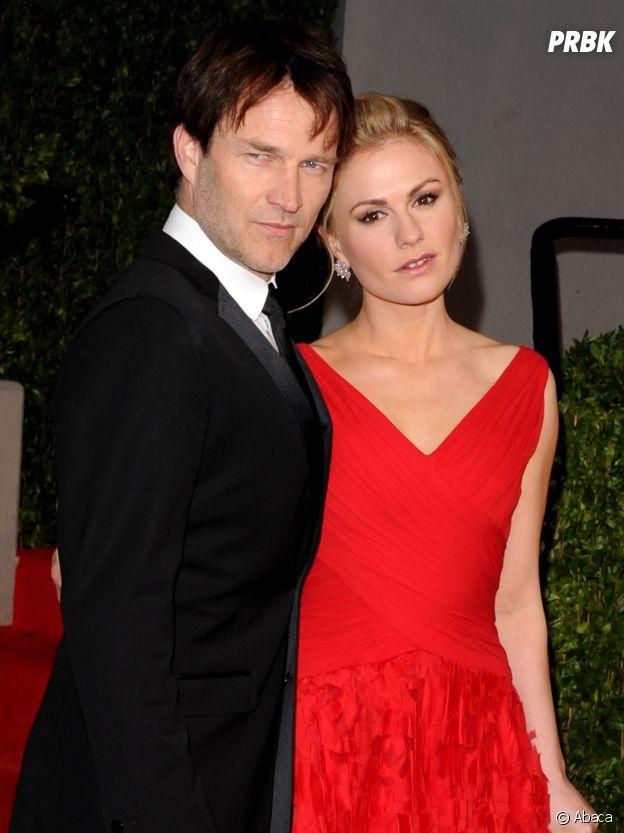 Anna Paquin et Stephen Moyer se sont rencontrés sur le tournage de la série True Blood