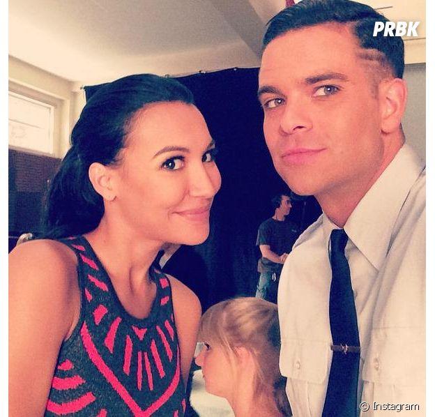 Naya Rivera et Mark Salling se sont rencontrés sur le tournage de la série Glee