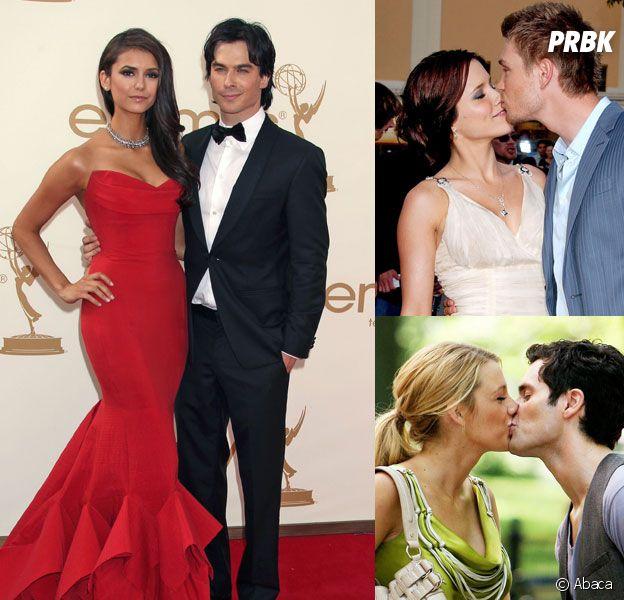 Ces couples qui se sont formés sur les tournages de séries