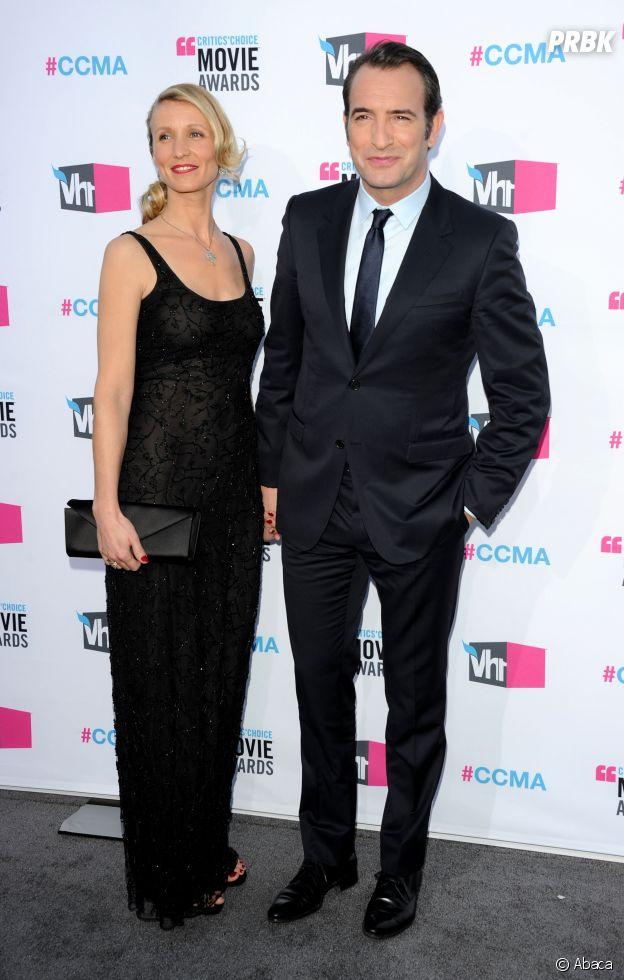 Alexandra Lamy et Jean Dujardin se sont rencontrés sur le tournage de Un gars, une fille
