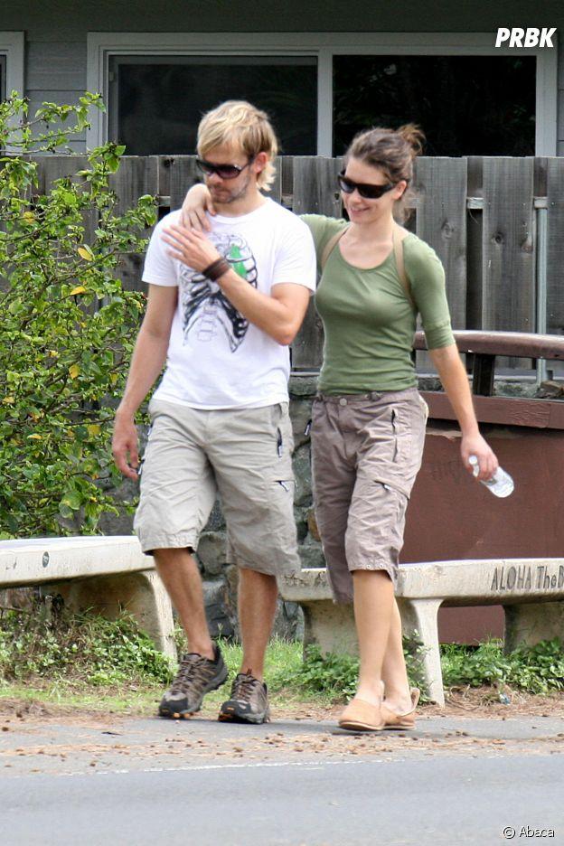 Evangeline Lilly et Dominic Monaghan se sont rencontrés sur le tournage de Lost