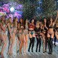 Le défilé Victoria's Secret au Grand Palais à Paris.