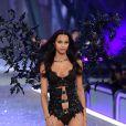 Lais Ribeiro au défilé Victoria's Secret au Grand Palais à Paris.