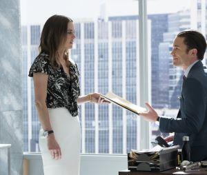 Iron Fist : Jessica Stroup (Joy Meachum) et Tom Pelphrey (Ward Meachum)