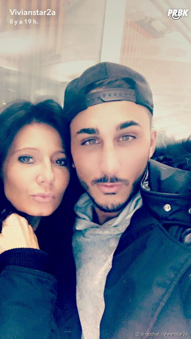 Vivian Grimigni et Nathalie Andreani, complices sur Snapchat