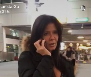 Nathalie (La Villa des Coeurs Brisés 2) sur le Snapchat de Vivian Grimigni