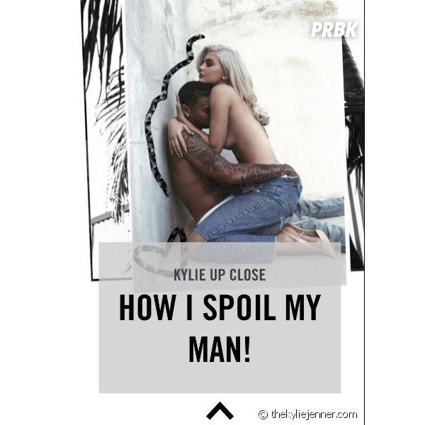 Kylie Jenner : capture de l'article supprimé dans lequel on pouvait lire les révélations sur sa vie de couple avec Tyga